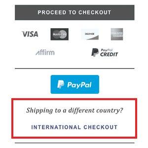 International Checkout