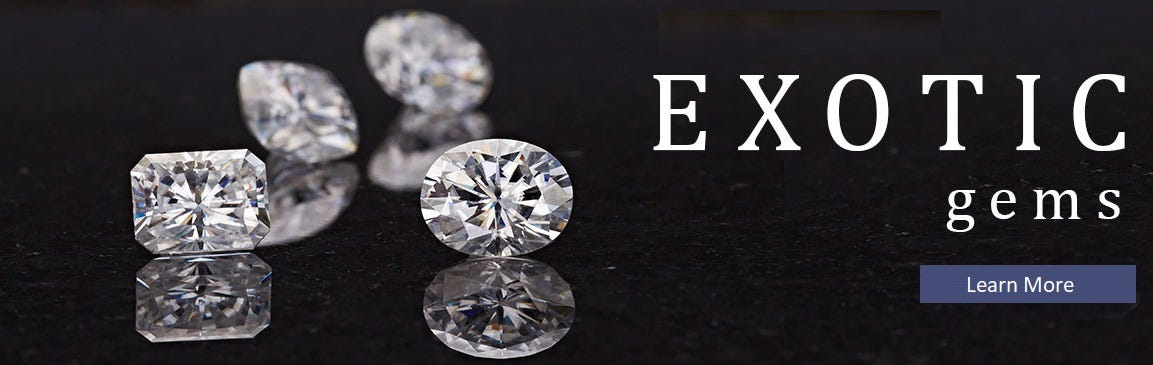 Part of our Exotic Gemstone Collection